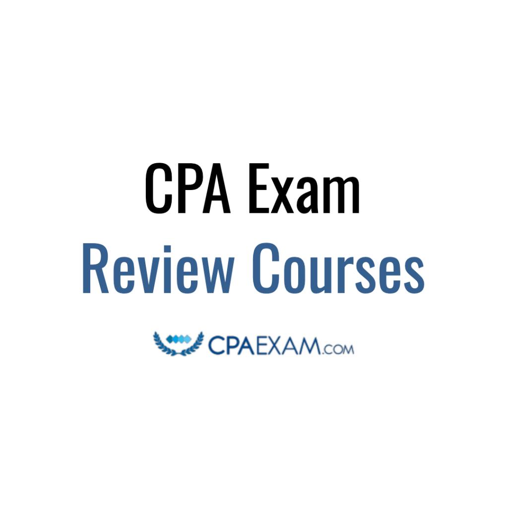 cpa exam review courses